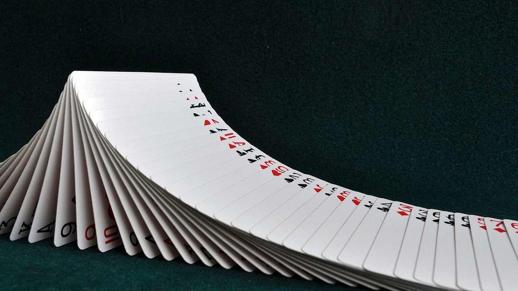 Un tour de cartes simple